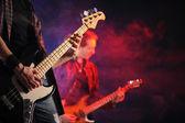 Rock live concert — Stock Photo