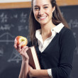 Portrait of young female student — Stock Photo #9203386