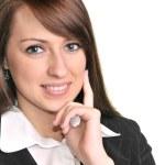 Pretty business woman — Stock Photo #9857298