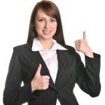 Pretty business woman — Stock Photo #9857347