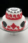 Torta fondente — Foto Stock