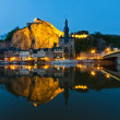 Cityscape of Dinant at the river Meuse, Belgium — Stock Photo #10570493