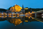 Cityscape of Dinant at the river Meuse, Belgium — Stock Photo