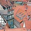 Facing at red roofs of Quedlinburg — Stock Photo #8013596