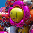 Colorful balloons wating for kids at party — Photo #8013716