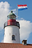 Lighthouse in the Netherlands — Stock Photo