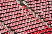 Tribune of a big Soccer stadium — Stock Photo