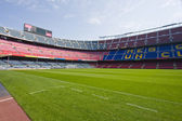 Soccer stadium Camp Nou in Barcelona — Stock Photo