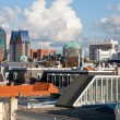 Skyline of The Hague, Dutch governmental city — Stock Photo