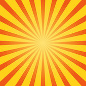 Orange and Yellow Shine — Stock Vector
