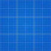 Seamless Blueprint Background — Stock Vector
