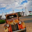 Rusty Vintage Car - Stockfoto
