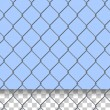 Security Fence Pattern - Stock Vector