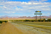 Route 66 Restaurant Sign — Stock Photo