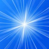 Blue Sunshine — Stock Vector