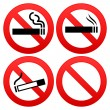 No Smoking Sign — Stock Vector #9525384
