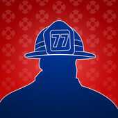 Fireman Symbols — Stock Vector