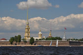 The view of Saint Petersburg — Stock Photo