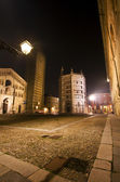 Cathedral square of Parma — Stock Photo