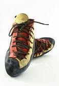 Rock climbing shoes — Stock Photo