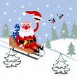 Royalty-Free Stock Vector Image: Santa Claus