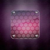 Abstract Background. luxury illumination glass — Stock Photo