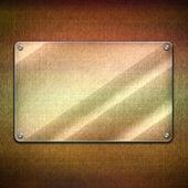 空白玻璃板背景 — 图库照片