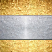 Brushed metal background — Stock Photo