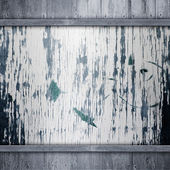 Old black wood background — ストック写真