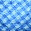 Old paper in blue cell - Foto de Stock