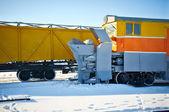 Railway locomotives — Stock Photo