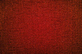 Texture woolen fabric green color — Stock Photo