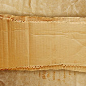 Riped grunge cardboard background — Stock Photo