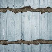 Grunge retro vintage wood background — Stock Photo