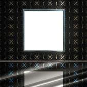 复古空室内装饰和装饰墙 — 图库照片
