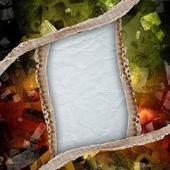 Riped paper background — Stockfoto