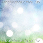 Abstract brushed metal. Spring nature background. — Stock Photo