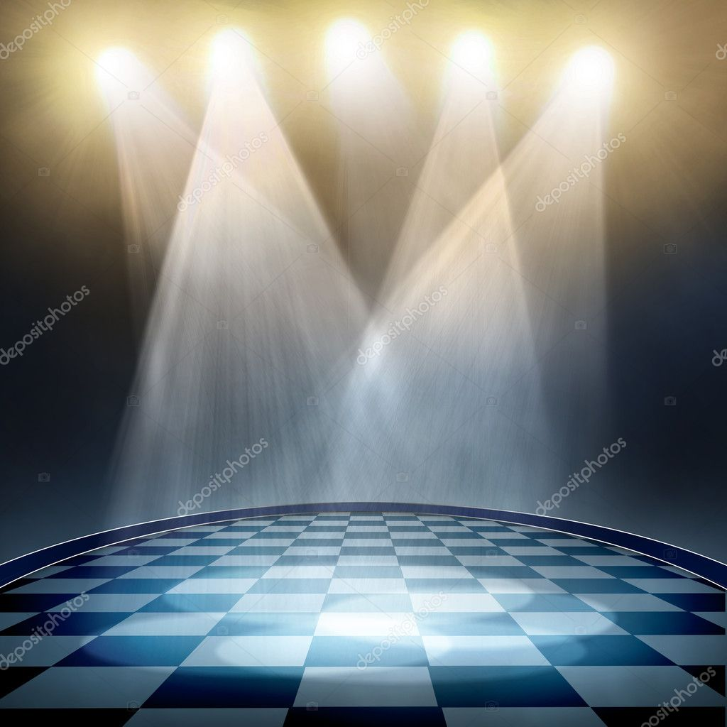 Spotlight  background — Stock Photo #9698372