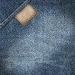 Denim jeans label background - Stock Photo
