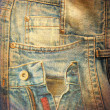 Abstract grunge jeans background — Stok fotoğraf