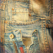 Abstract grunge jeans background — Stock Photo
