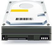 Computer hard disk drive — Stock Photo