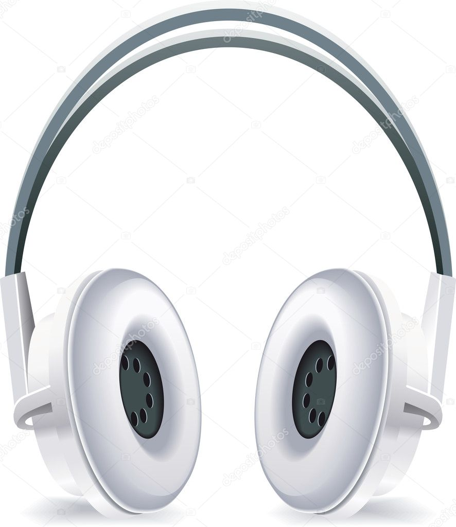 Headphones illustration  Stock Photo #9474704