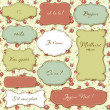 Royalty-Free Stock Vectorielle: Vintage Frames