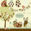 Easter Extravaganza - Stock Vector