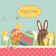 easter background — Stock Vector #10377442
