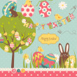Easter Extravaganza — Stock Vector