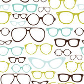 Retro Seamless spectacles — Stock Vector