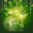 Beautiful Christmas Star illustration. Christmas Card - Stock Photo