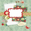 Royalty-Free Stock Photo: Cute Christmas scrapbook elements